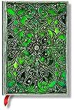 Silberfiligran Kollektion Esmeralda - Notizbuch Midi Unliniert - Paperblanks