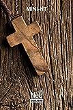 NeÜ bibel.heute: Mini NT Motiv Holzkreuz