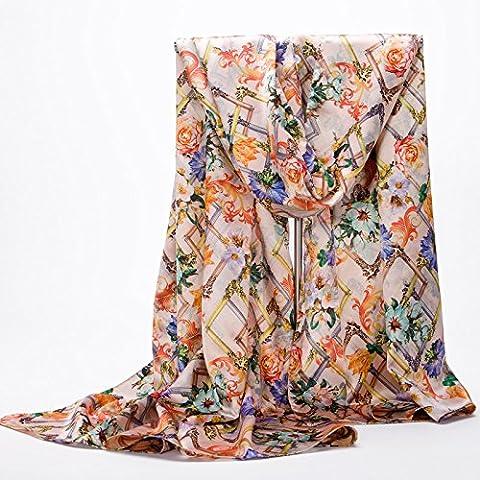 Autunno Inverno Womens Fashion eleganza Super Morbida sciarpa scialle Europa Street Style(cotone/lana/filo/seta)W-1141
