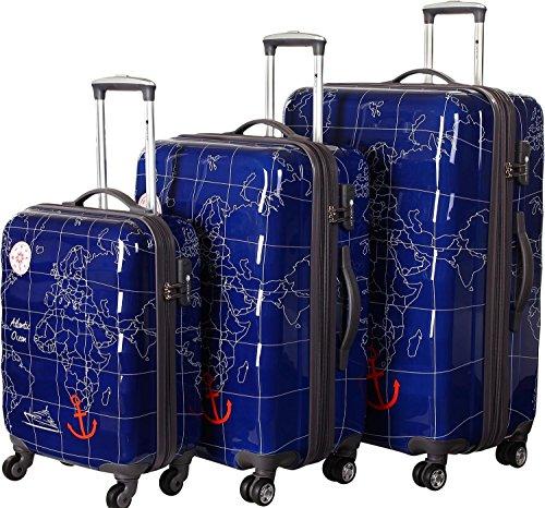 CheckIn Madeira lot de 3 valises 4 roulettes meerblau