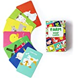 Shumee Farm Animals Matching Snap Card Game for Toddlers, Kids, Preschoolers(3 Years +) - 52 Cards Fun Educational Game…