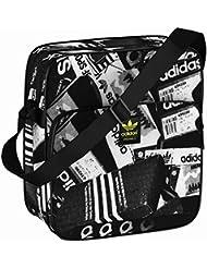 Bolso Reportero Bandolera adidas – Sir Bag Fotoprint Negro/Blanco