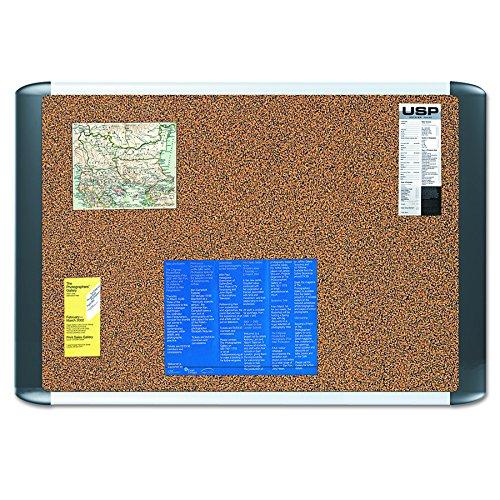 MasterVision Tech Cork Board, 24x36, Silver Frame (Cork Mastervision Board)
