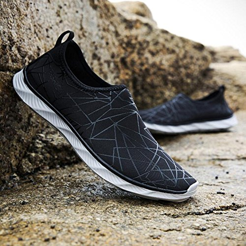 88a0988db1d7 wdxie Summer Beach Shoes Running Soft Casual Yoga Swimming Diving ...