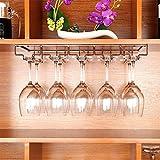 HT BEI Schmiedeeisen Schwarz/Bronze Weinglashalter Dekoration in 2 Farben erhältlich 3 Größen 50cm: bis zu 10 Tassen, 60cm: bis zu 12 Tassen, 70cm: bis zu 14 Tassen |