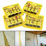 Best Fly Catchers - 16 Rolls Insect Bug Fly Glue Paper Catcher Review