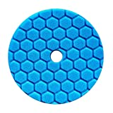 Chemical Guys hexagonale Logic Anti holographique Quantum Polissage Pad 14 cm (140 mm) Bleu Polissage Pad