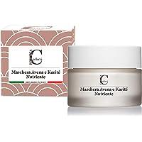 Maschera Viso Nutriente (100 ml) con Argilla, Avena e Karitè 100% Made in Italy - Maschere per il Viso Maschera Viso…
