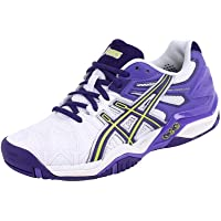 ASICS Chaussures Gel Resolution 5 OC Tennis Blanc Femme