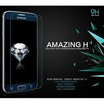 Nillkin 9H Extreme hardness nano anti-burst Tempered Glass Protective flim for SAM galaxy S6
