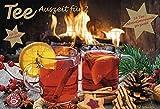 Image of Tee-Adventskalender für Zwei - Pärchen-Adventskalender, 24 Türchen und 50 Aufgussbeutel - 56 x 38 x 2 cm