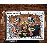 "Marco Photo Booth-Foto Requisite/Fotomatón con accesorios DC Comics ""Personajes"" (34cm x 22,5cm)"