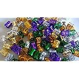 X20: Schlösser scheut Tube rings cuffs metal clips rasta wraps beads Faux Locks, Dreadlocks.Dread Locs trenza abultar