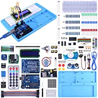 Move the finished project. Free detailed tutorials are included in the CD. You can also contact us by email to get the tutorials. Package list:  1)1 x UNO R3 Development Board  2)1 x RAB Holder 3)1 x 3.5V/5V Breadboard module 4)1 x Prototype Extensio...