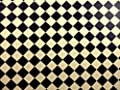 Dolls House Miniature Builder DIY Cream Black Tile Flooring Wallpaper Pack 2 - cheap UK light shop.