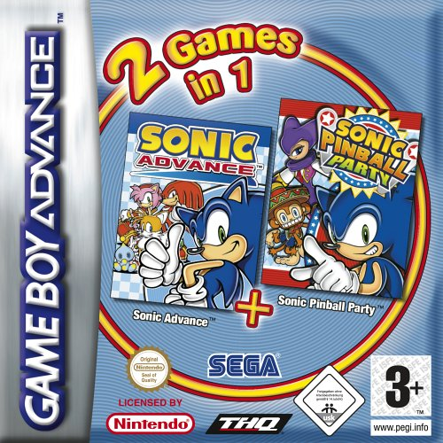 In Tails Sonic 1 (2 Games in 1 - Sonic Advance + Sonic)