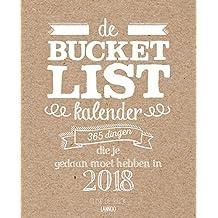 De Bucketlist scheurkalender 2018: 365 dingen die je gedaan moet hebben in 2018