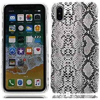 coque iphone xr peau de serpent