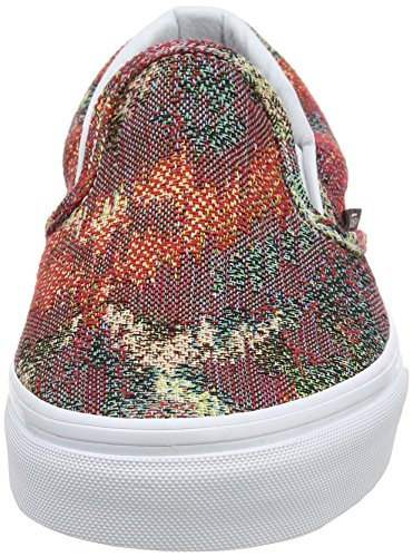 Vans Authentic, Sneakers Basses Mixte Adulte Multicolore (Italian Weave safari/multi)