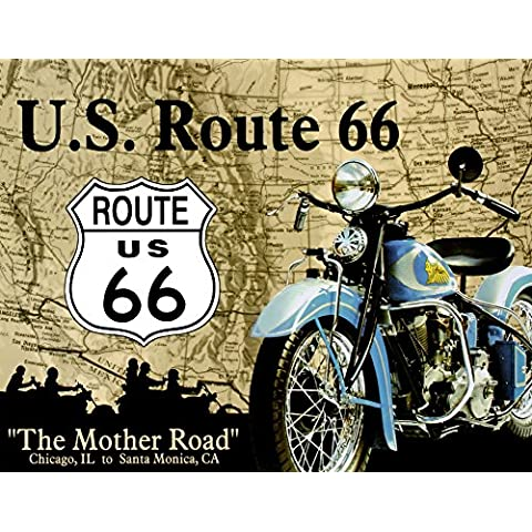 TIN Sign Mother the Road