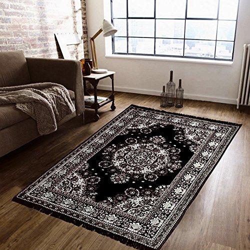 Supreme Home Collective Chenille Beautiful Carpet- 05Black