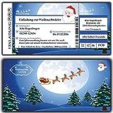 Einladungskarten Einladung zur Weihnachtsfeier Weihnachtskarten Weihnachtsessen für Firmen, Vereine, Kita, Kindergarten, Grunschschule, Schule Weihnachten - 80 Stück Karten lustig witzig Firma geschäftlich Business Firmen geschäftlich unternehmen edel elegant