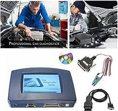 Binghotfire DIGIPROG 3 III OBD2 7 STÜCKE Auto Fehler Diagnose Tester Hauptgerät von Digiprog III Digiprog 3 V4.94 mit OBD2 ST01 ST04 Kabel Auto Zubehör