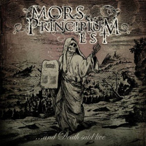 Mors Principium Est: ...And Death Said Live (Audio CD)