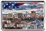 USA E469 BOISE IDAHO KÜHLSCHRANKMAGNET TRAVEL PHOTO REFRIGERATOR MAGNET