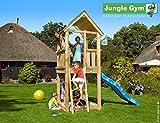 JUNGLE GYM Spielturm Jungle CLUB mit Wellen-Rutsche