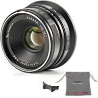7artisans 25mm f1.8-APS-C Objektiv für Fujifilm X-A10 X-A3 x-at-XM2 X-T1 X-T10 X-T2 X-T20 x-Pro1 X-Pro2 X-E1 X-E2 X-x…