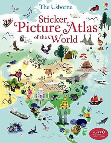 Sticker Picture Atlas of the World (Sticker Books) por Sam Lake