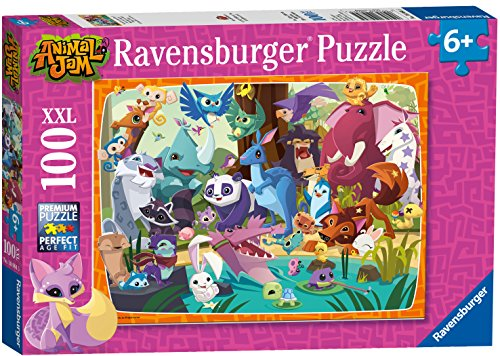 Ravensburger 10984-Animal Jam Puzzle-XXL, 100Piezas