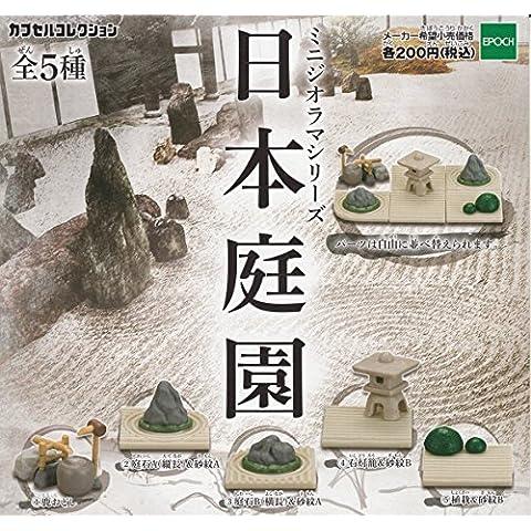 Mini serie diorama giardino giapponese tutti e