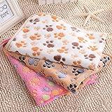Global- Winter Doghouse Matte / Lamm Kaschmir Blanket / Pet Blanket Quilt / Puppies Decke Katze Steppdecke / Widerstand zu beißen starke dicke Baumwolle Pad ( farbe : #1 , größe : 106*76cm ) - 2