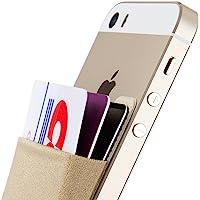 Sinjimoru Porte-Cartes, Pochette Adhésive, Portefeuille Autocollant pour Téléphone Portable, Stick-on Wallet pour iPhone…