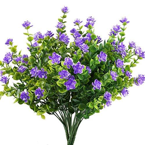 Houda 4pcs Fake Plants Artificia...