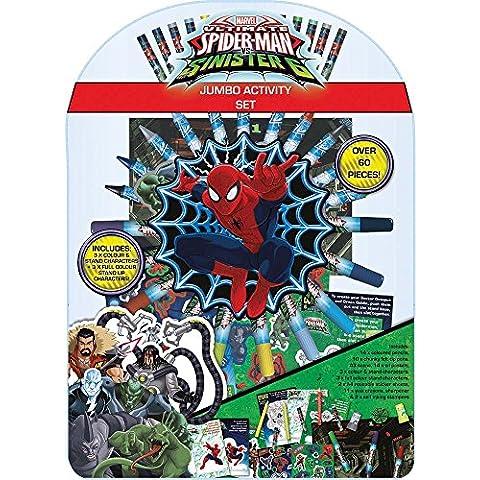 Spiderman-Set di attività - Spider Man Gift Set