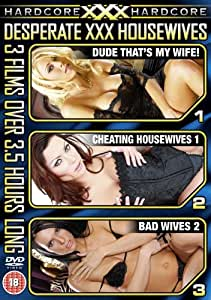 XXX Hardcore - Desperate XXX Housewives, 3 film set [DVD]