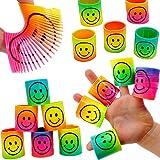 German Trendseller - 12 x Regenbogen - Strolche ┃ -Neu- ┃ Happy Face ┃ Kindergeburtstag ┃ Mitgebsel ┃12 x Strolche Zum Ziehen