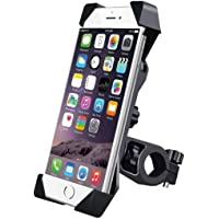HUMBLE Universal 360 Degree Adjustable Mobile Phone Holder for Bicycle   Bike   Motorcycle   Ideal for Maps   Navigation…