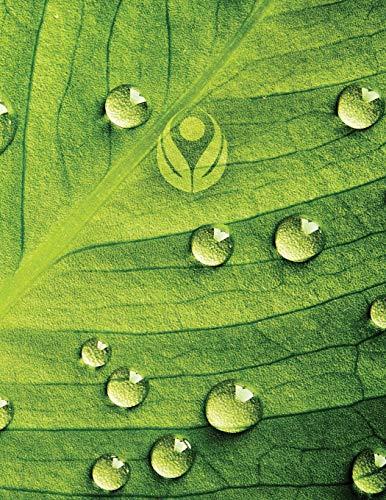 Dew Drop Leaf 2 Sketchbook: Sketch Book Notebook (Go Green 150 Sketch, Band 11) -
