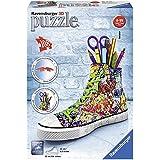 Ravensburger 12535 Graffiti Sneakers 108 Pieces 3D Jigsaw Puzzle