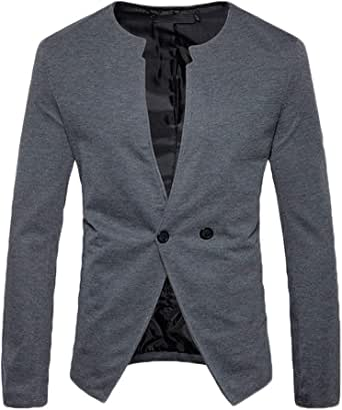 Men's Jacket Sweat Jacket Suit Blazer Fit Slim Modern Casual Jacket One Button Stylish Jacket Business Suit Jackets