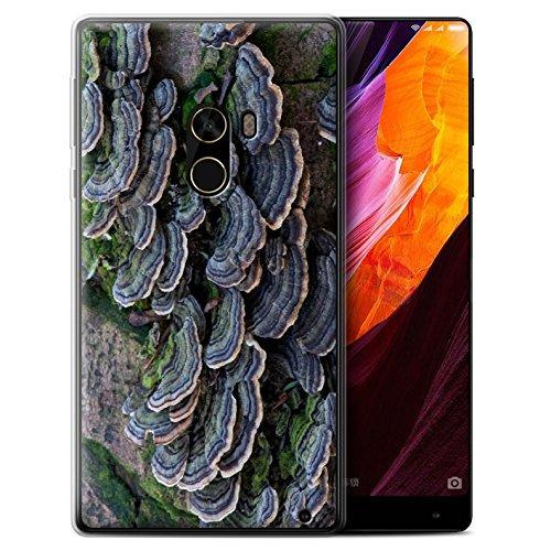 Stuff4 Gel TPU Hülle / Case für Xiaomi Mi Mix 2 / Fungus Muster / Pflanzen/Blätter Kollektion Haut Fung