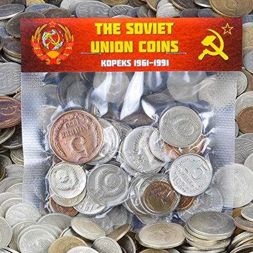 30 URSS SOVIÉTICA KOPEKS Monedas 1961-1991 Guerra