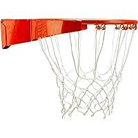 New Port slam Rim pro Basketballring Mit Feder, Orange, One Size
