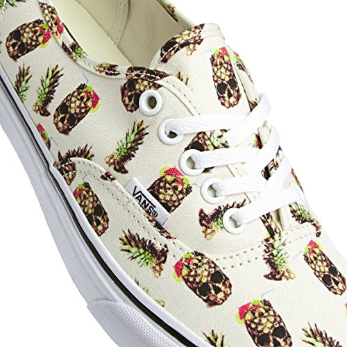 Vans U Authentic , Baskets mode mixte adulte white/ananas