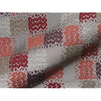 Landhaus Möbelstoff Kitzbühel Farbe 21 (rot, braun, terra