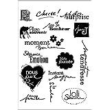 Chaunce Transparent Tampon Tampons Scrapbooking Feuille Transparente de Joint de Silicone de Timbre de pour l'album de Carte